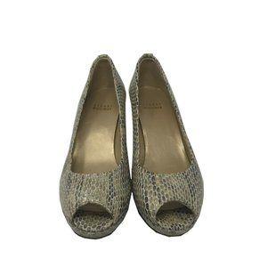 Stuart Weitzman Women's High Heel Shoe Siz 7.5 Tan